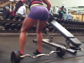 Hot milf with in spandex...