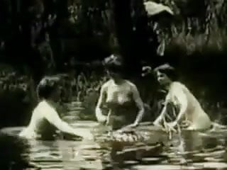 Vintage Erotic Movie 2 - No Swimming 1906