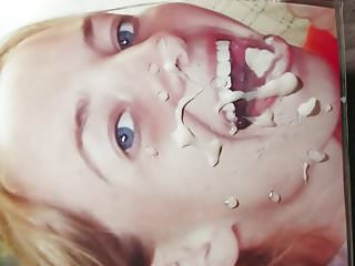 Busted a nut on another face cum tribute facial request