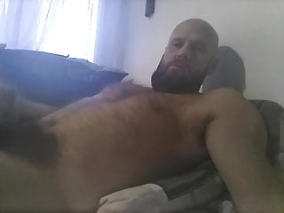 Thick Hairy Bearded Daddy Cums