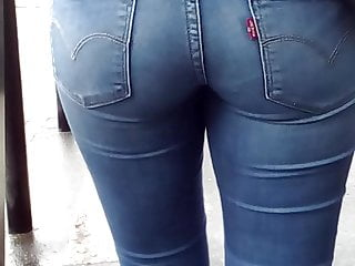 Young jeans in LM tight girl italian sexy