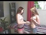 Fucking two petite Teenagers POV