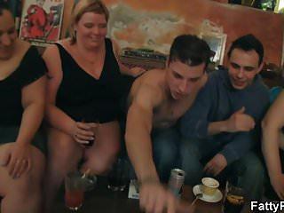 Big tits striping and...