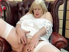 Hot Curvy Juicy Blonde Grandma Built 4 BBC Creampie. Gilf