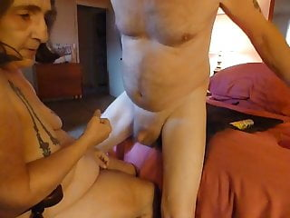 Fucking my mans ass with wevibe and prostate...