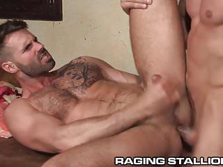 Ragingstallion latino big brother star fucks ass...