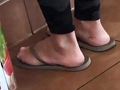Candid feet 4