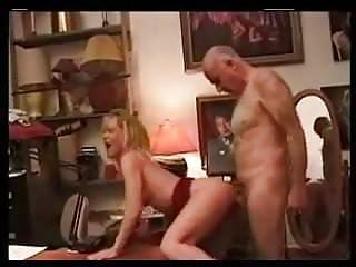Hairy older man enjoying hotty...