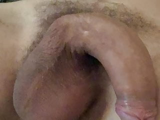Me jerking big cock and cumming