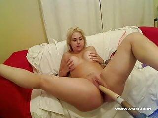 Pornstar Sarah Vandella live sex machine webcam
