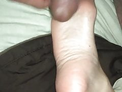 Cuming on her soles