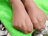 Rosalie Toes – Outside Nylon Toes