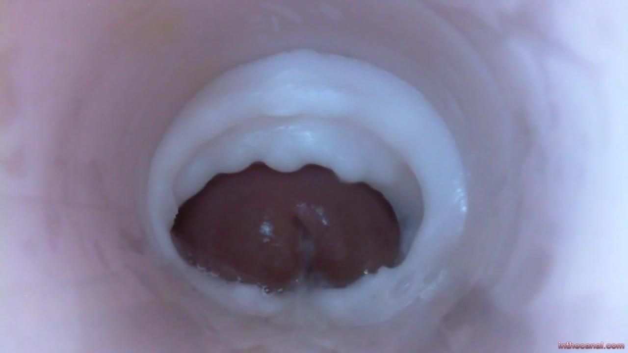 Up Close Dick Cum Inside Pussy