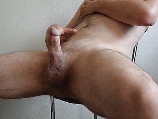 Nude hairy boy masturbating big kairy cock...