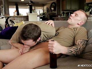 Nextdoorbuddies str8 military hunk friend...