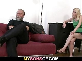 Dude finds his lady dad...