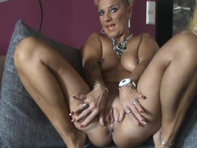 German Mature Junge Anal