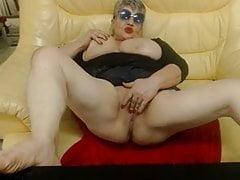 BBW Granny Cam Masturbation