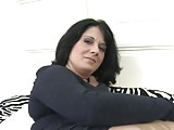 Amateur mother stuffing her wet pussy