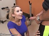 Stepmom Seduces her stepson at the Gym
