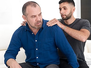 Bear Step Dad Family Sex With Step Son After Fucking His Mom