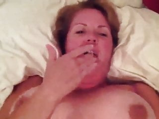 bouncy big breasted mature wife exposed