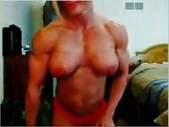 FBB topless in bedroom