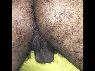 Hairy woolly furry bushy brown ass...