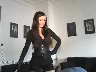 Mistress makes a slave out of an employee-