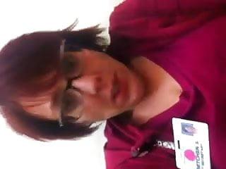 gretchen se masturbe au travaille