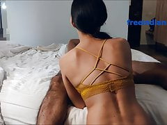 INDIAN GF HAS HARDCORE FUCK WITH BF IN HOTEL