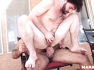 MANALIZED Jackson Fillmore Barebacked By Daddy In Backyard