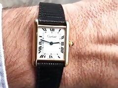 Cartier Tank Louis Wrist shot