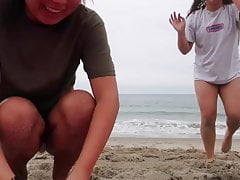 Yoga Challenge Bikini - THICC asian college girl and friend