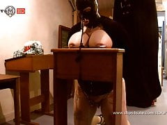 slave m dungeon session stretchingfree full porn