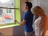 Mommy fucked by young estate agent