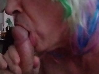 Her man 039 cock amp swallows his...