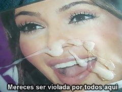 Kim Kardashian CUM Tribute 4 (In Spanish)