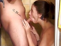 Deutsche Paare, ficken im Bad