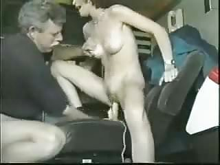 Young girl and a dildo...