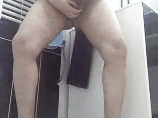 My Cum Fountain for daddies and chubbies in the bathroom HOT