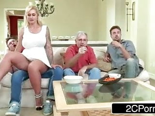 StepSon Pound StepMom In Entrance His Father