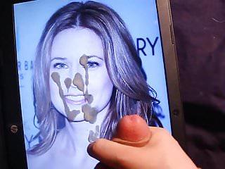 Jenna fischer cum facial...