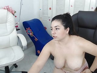 I invited my friend naked on cam with me