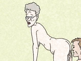 Anal Sex! Big Animation! Loves Granny