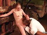 German Step-Son Seduce MILF mother to Fuck Outdoor