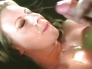 Cum all over my beautiful face 3...