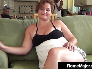 The Swinger Experience Presents Rome Major Fucks Phat Milf Scarlette With 2 Black Dick Bros!