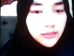 cute hijab girl jakrta for money in bigo wearing hijab