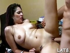 Mia Khalifa, Lana Rhoades and Sunny Leone get fucked hard